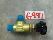 """Swagelok Brass Angle Valve B-2JNA2 708659001 1/8"""" MNPT (New)"""