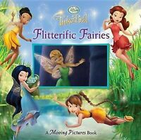 Flitterific Fairies: A Moving Pictures Book (Tinkerbell) by Stephens, Leigh, Goo