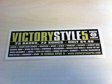 Victory Sticker/Decal Atreyu Ringworm Waterdown Snowdogs Snapcase Catch 22 Hoods