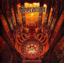 "Evocation  ""Illusions of Grandeur"" (Century Media)  SEALED BRAND NEW CD"