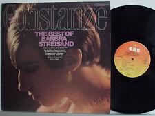 BARBRA STREISAND disco LP CONSTANZE THE BEST OF stampa OLANDESE 1968 HOLLAND