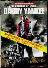 Daddy Yankee - Talento de Barrio ( DVD Regular ) Entrevistas Exclusivas Limited