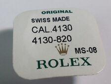 Rolex 4130 820 Chronograph Rad - offen Pack für Uhren Reparatur