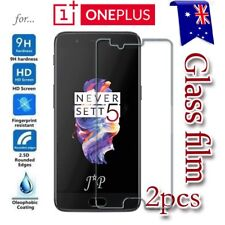 2X Oneplus 3 3T | 5 5T Five Tempered Glass / Plastic Screen Protector Film Guard