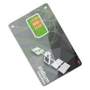 Iridium Prepaid SIM-card for satellite phones 9555 9575 9505A GO