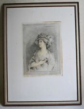 G. B. Cipriani published by 1787 by John & Josiah Boydell young woman Rahmen