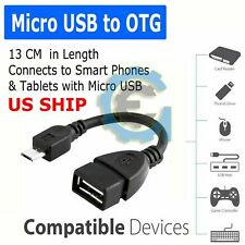 WHOLESALE Durable Micro USB OTG Host Cable Adapter Male 2.0 Female For Android