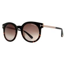Gafas de sol de mujer marrón negro plástico