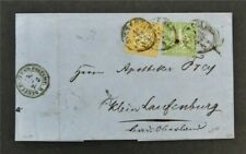 nystamps German States Wurttemberg Stamp # 15.16 Used $275 On Cover