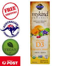 Garden of Life MyKind Organics Vegan D3 Vanilla Spray 1000 IU, 2 oz (58 ml)