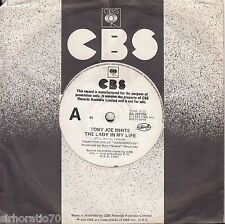 TONY JOE WHITE The Lady In My Life / We Belong Together 45 - Promo