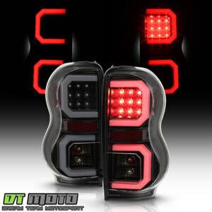 2004-2009 Dodge Durango SUV Black Smoke LED Tube Tail Lights Lamps Left+Right
