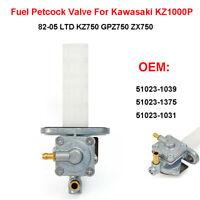 Genuine Fuel Petcock Valve For Kawasaki KZ1000P 82-05 KZ750 LTD ZX750 51023-1039