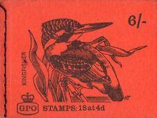 Gb Qeii June 1968 Bklt Qp38 - 6/-