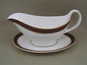 ROYAL DOULTON MARTINIQUE GRAVY BOAT AND SAUCER, H 5188, 2nd.