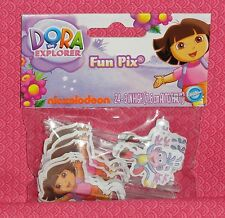 Dora/Boots Cupcake Fun Picks/Pix,Wilton, 24 ct.2113-6301,Multi-Color,Plastic
