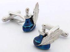 Quill Pen and Ink Pot Novelty Cufflinks  in cufflink gift box    22659