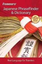 Frommer's Japanese PhraseFinder & Dictionary (Frommer's Phrase Books)