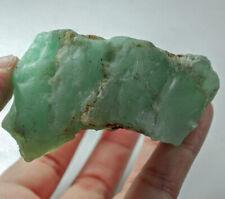 358.4Ct Natural Brazilian Green Opal Facet Rough Specimen YOA40