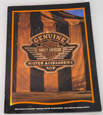 1996 Harley-Davidson Motorcycles Parts & Accessories Catalog Brochure Dealer