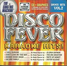 DANCE HITS volume 2 DISCO FEVER karaoke