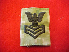 US Navy Type III Type 3 Green Digital  E-6 rank tab for blouse & parka