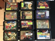 Lot 12 Games For SEGA Mega Drive JAP