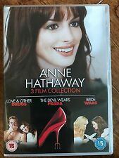 Anne Hathaway AMORE E OTHER DRUGS / DIAVOLO WEARS PRADA / SPOSA WARS UK DVD