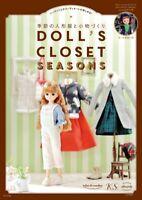 DOLL'S CLOSET SEASONS Dolls' Clothes Sewing Book Japan
