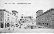 ROMA - Piazza Venezia e Monumento Vittorio Emanuelle II