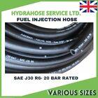Rubber Reinforced Fuel Hose - E10 Unleaded Petrol Diesel Oil Line Fuel Pipe