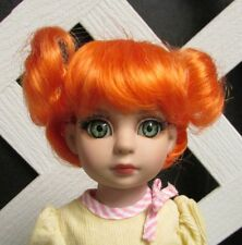 "Doll Wig, Size 5/6 ""Hailey"" in ORANGE Monique Factory Sample"