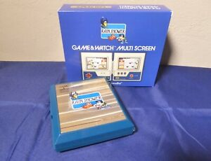 Nintendo Game and Watch Rain Shower Japan 1983 fully worked