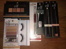 Elf Cosmetic Lot All New Nib Concealer Palette Liquid lipstick Glitter Eyeliner