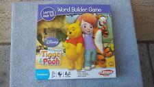 PLAYSKOOL Games:  Word Builder Game  Disney  Tigger & Pooh  [2007]  Ages 3+