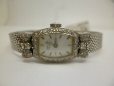 Platinum, 9ct White Gold and Diamond Vertex Ladies Watch