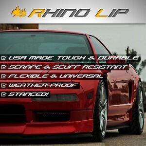 Supra GT-R 86 NX SE-R Altra B16 GT GTS Front Splitter Chin Lip Spoiler Edge Trim