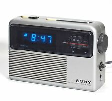 SONY Dream Machine DIGIMATIC Digital Alarm Clock FM/AM Radio ICF-C805W