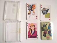 Gundam Wing Endless Waltz anime manga deck of playing Poker cards shiny Rare Oop