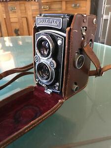 Rollei Rolleiflex 3.5 A K4A Tessar 3,5 / 75 mm  TLR-Kamera