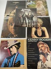 Vintage Country Other Vinyl 12� Records Lp Willie Nelson Kenny Rodgers Alabama