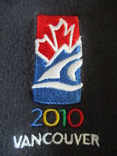 2010 OLYMPIC WINTER GAMES - VANCOUVER Embroidered Zippered (XS) Sweatshirt