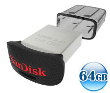 SANDISK CRUZER ULTRA FIT 64GB 64G USB 3.0 Flash Key Drive Memory Stick 150MB/s*