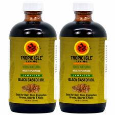 Tropic Isle Living Jamaican Black Castor Oil Healing 8 oz - Pack of 2
