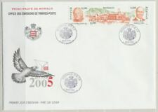 Monaco Sc. 2365 Princes and Royal Palace Architecture on 2004 Large FDC
