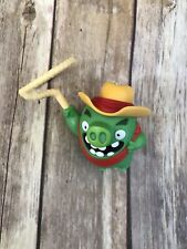 McDonalds Meal Angry Bird Green Pig Lasso Toy Cake Topper