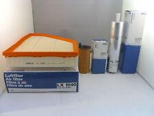 BMW X1 2.0 Diesel Service Kit Oil Air Fuel Filter 2012-Onwards *OE MAHLE