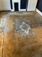 More details for hand made 100% wool large rug