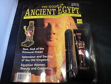 Hachette The Gods of Ancient Egypt Issue 7 Hathor goddess of love music /& da