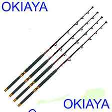 Saltwater Fishing Rods 80-130Lb (4 Pack) Fishing Poles Fishing Rod Penn Shimano